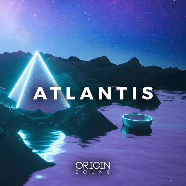 Atlantis Sample Pack, Origin Sound, Origin Sound - Origin Sound samples royalty free fundamental ambience pack edm electronic ableton live fl studio logic pro piano drums keys bass chords midi melodies IDM organic downtempo tisoki presets elysian utopia free samples