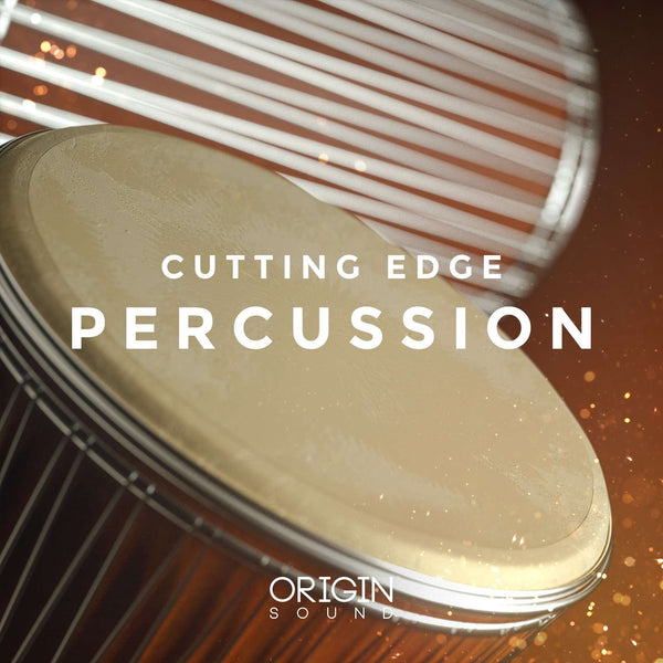 Cutting Edge Percussion Vol. 1 Sample Pack, Origin Sound, Origin Sound - Origin Sound samples royalty free fundamental ambience pack edm electronic ableton live fl studio logic pro piano drums keys bass chords midi melodies IDM organic downtempo tisoki presets elysian utopia free samples