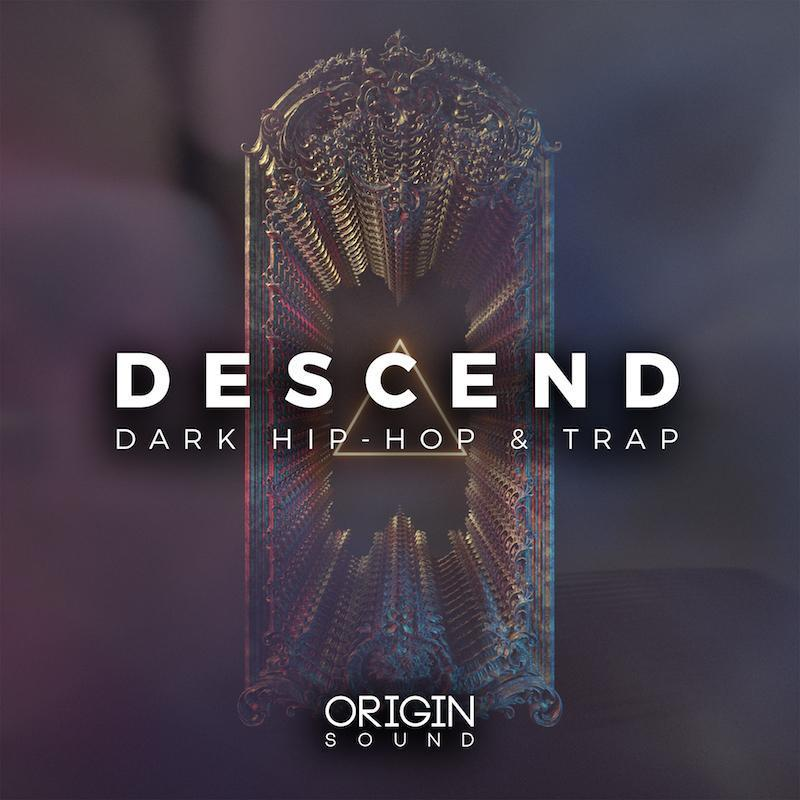 Descend - Dark Hip-Hop & Trap Sample Pack, Origin Sound, Origin Sound - Origin Sound samples royalty free fundamental ambience pack edm electronic ableton live fl studio logic pro piano drums keys bass chords midi melodies IDM organic downtempo tisoki presets elysian utopia free samples