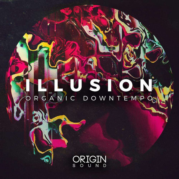 Illusion - Organic Downtempo Sample Pack, Origin Sound, Origin Sound - Origin Sound samples royalty free fundamental ambience pack edm electronic ableton live fl studio logic pro piano drums keys bass chords midi melodies IDM organic downtempo tisoki presets elysian utopia free samples