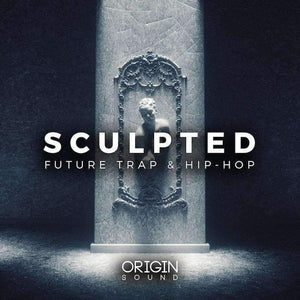 Sculpted - Future Trap & Hip-Hop Sample Pack, Origin Sound, Origin Sound - Origin Sound samples royalty free fundamental ambience pack edm electronic ableton live fl studio logic pro piano drums keys bass chords midi melodies IDM organic downtempo tisoki presets elysian utopia free samples