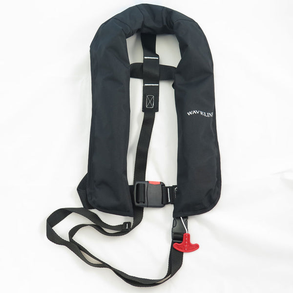 Waveline 165N ISO Auto LifeJacket With Crutch Strap