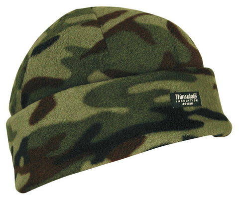 Camo Fleece Thinsulate Hat