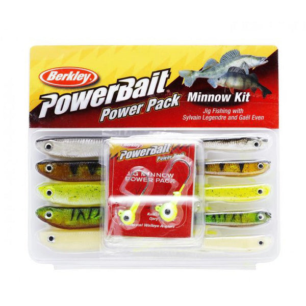 Berkley PowerBait® Pro Pack Minnow kit