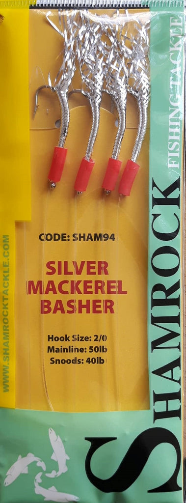 Shamrock rig silver mackerel basher