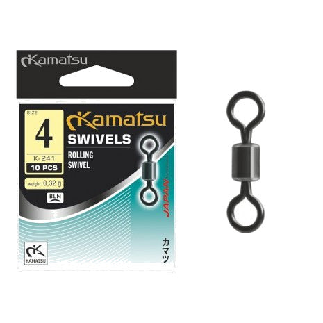 Kamatsu Rolling swivels (10 pcs)