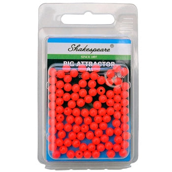 Shakespeare® Rig Attractor Beads 5mm - Red