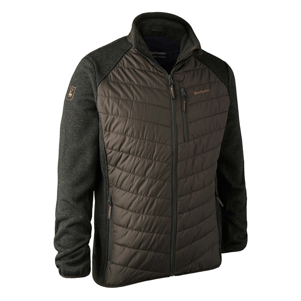 Deerhunter Moor Padded Jacket w. Knit Timber