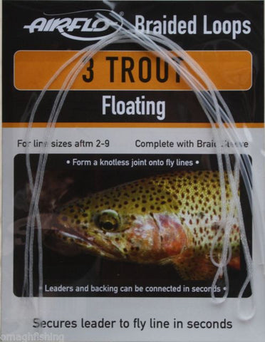 Airflo Trout Braided Loops Floating