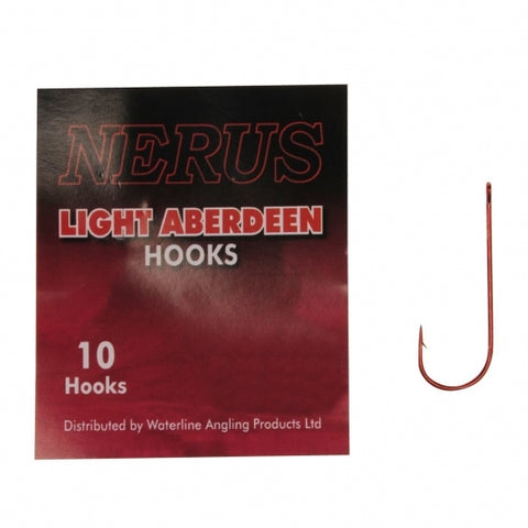 Nerus Light Aberdeen sea hooks red