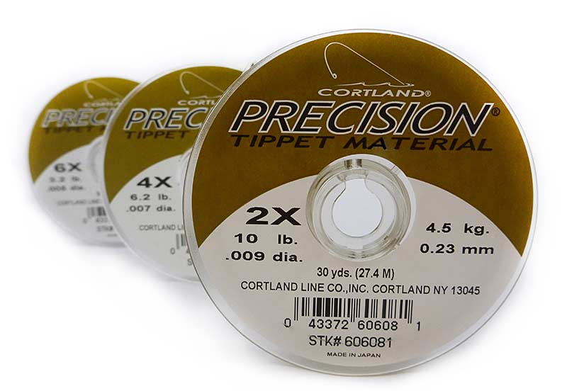 Cortland Precision Tippet 30yd fly fishing leader