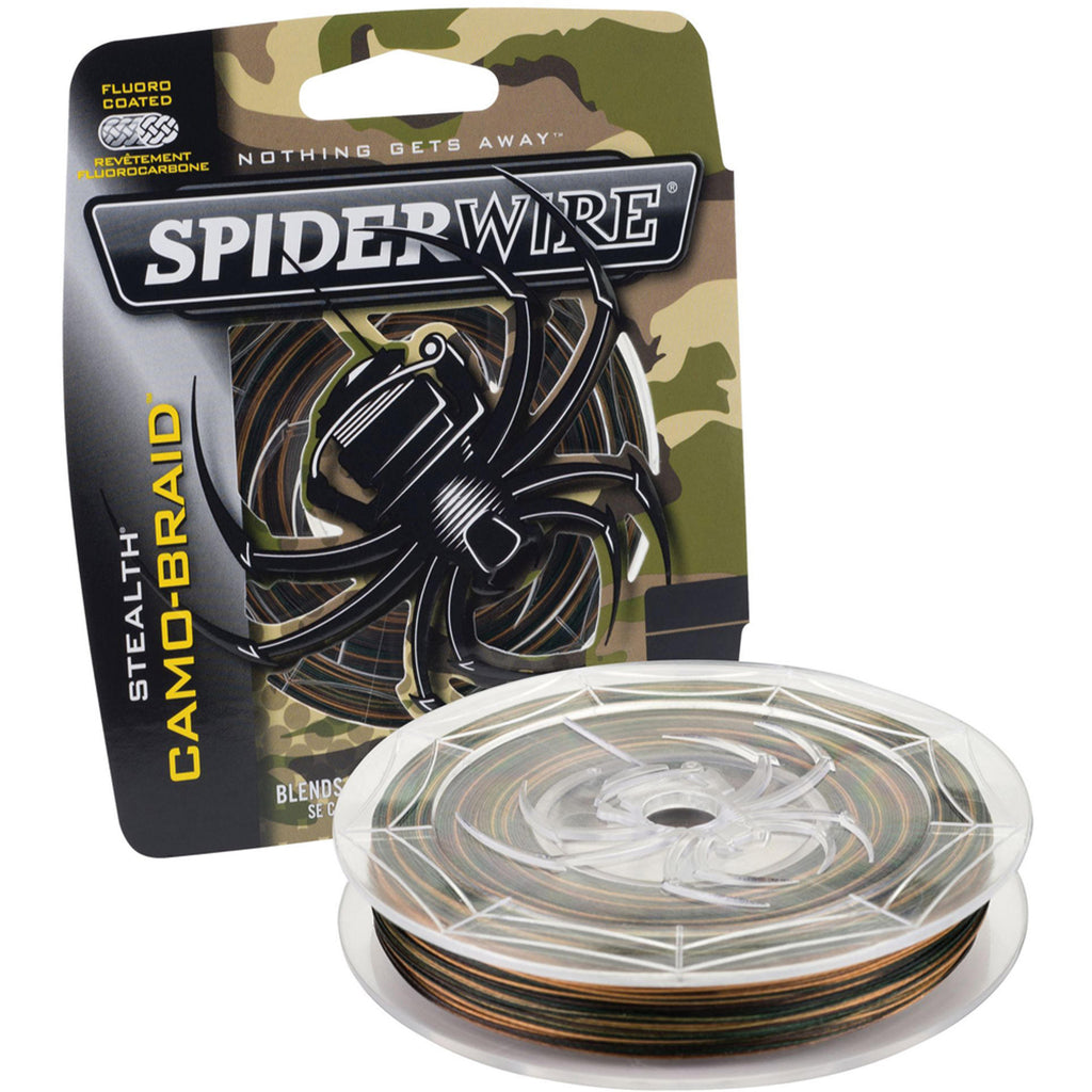 SpiderWire® Stealth® Camo Braid line 300yd Camouflage