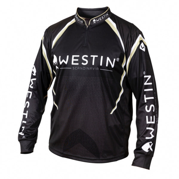 Westin LS Tournament Shirt Black / Gray