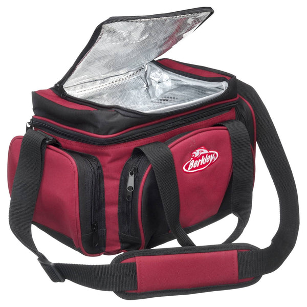 Berkley® System Bag L Red/Black + 4 Boxes