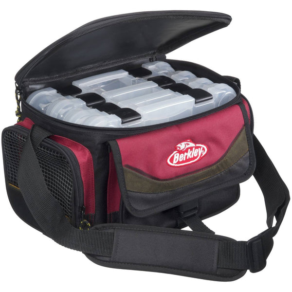 Berkley® System Bag Red/Black + 4 Boxes