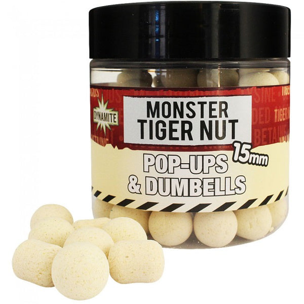 Dynamite Monster Tigernut Fluro Pop Ups & Dumbells - VIVADO