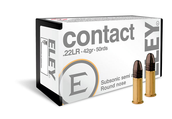Eley Contact Subsonic .22LR