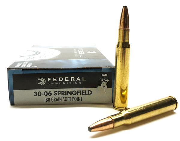 Federal Power Shock 30-06 SPRING 180gr Soft Point
