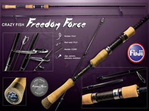 Crazy Fish Freedom Force spinning 2.1m 4-16g