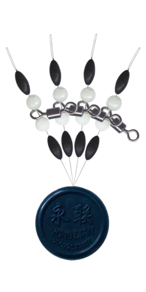 Cralusso Swivel with pearl beads with rubber stopper - VIVADO