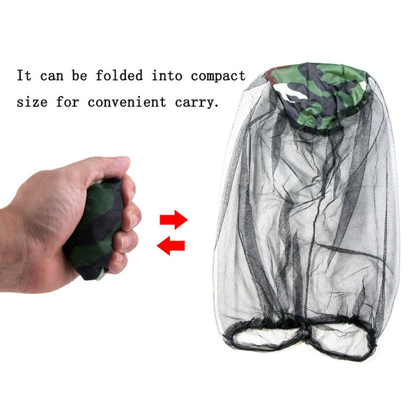 Anti-mosquito Bee Insect Fishing Camping Face Mask Net
