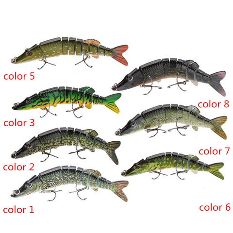 Jointed Swimbait lure 12.5cm 20g - colour 8