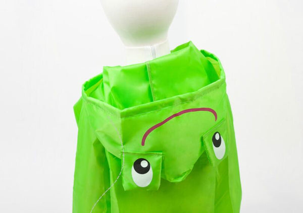 Waterproof Cartoon Raincoat for children