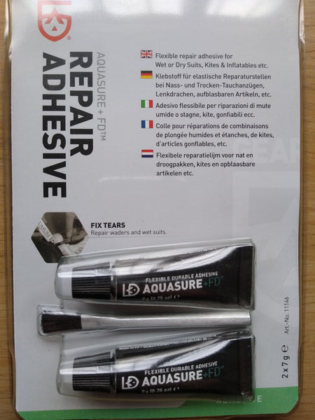 Gear Aid Aquasure +FD Repair Adhesive 2x7g