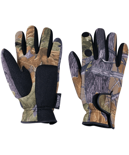 Jack Pyke Neoprene gloves English Oak