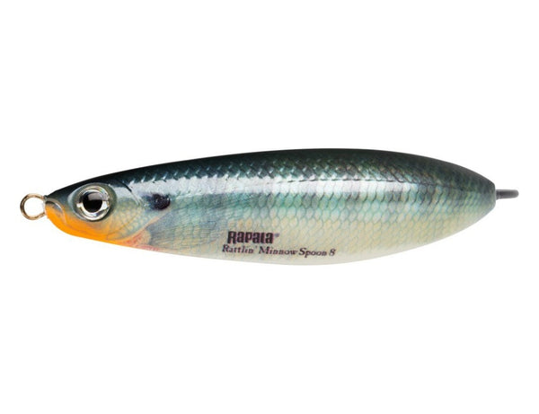 Rapala Rattlin' Minnow Spoon® RMSR-8 lures 8cm 16g