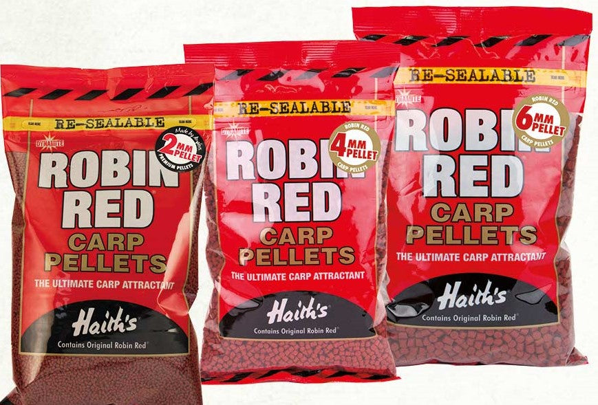 Dynamite Baits Robin Red Carp Pellets 900g - 2mm