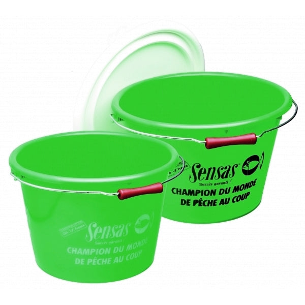 Sensas Club 17 Litre Bucket And Lid - VIVADO