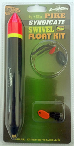 Dinsmores SYDICATE PIKE SWIVEL FLOAT KIT 30G