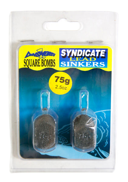 Dinsmores Syndicate Lead Sinkers Square Bombs - VIVADO