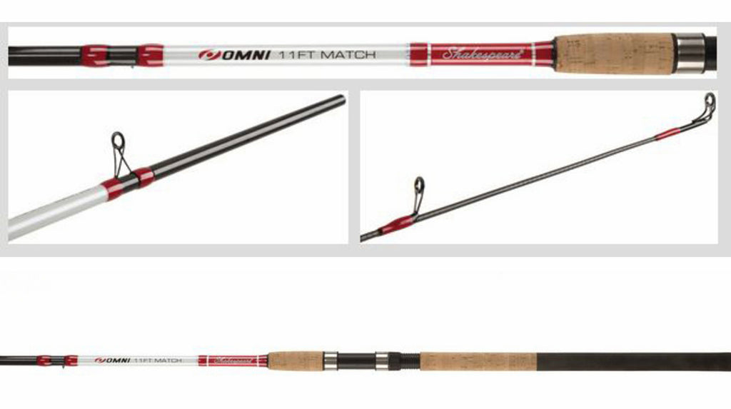 Shakespeare® Omni Match rod 3.3m/11ft 3pcs