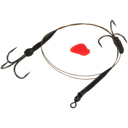 Fox Rage Predator 49 Strand Float Trace 50cm Barbed - VIVADO