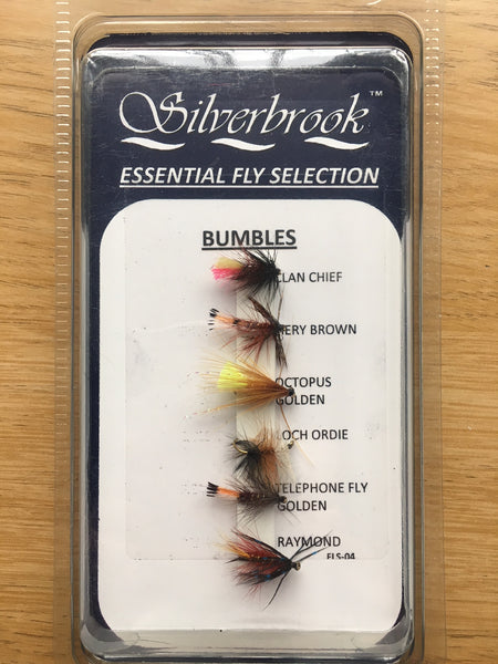 Silverbrook Essential Fly Selection BUMBLES
