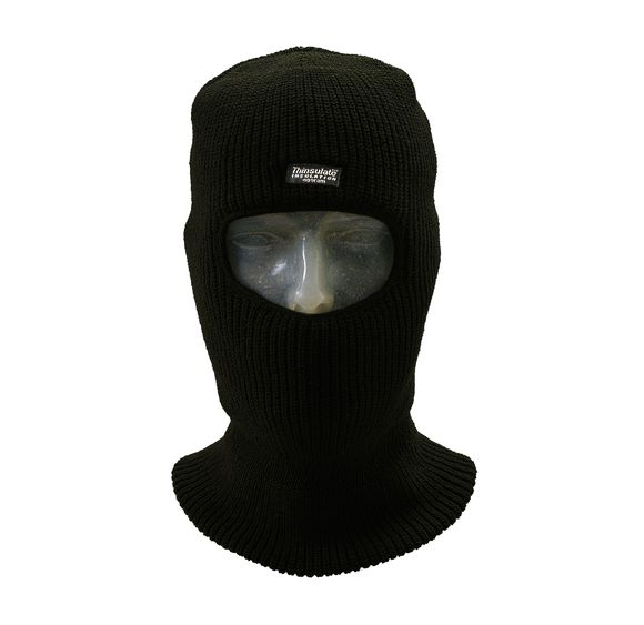Black Thinsulate Open Face balaclava