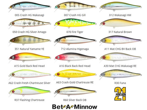 Pontoon 21 Bet-A-Minnow lures 10.2cm 14.9g - Floating