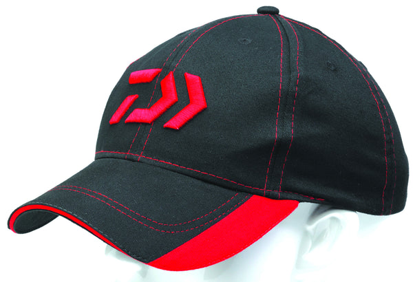 DAIWA BLACK 'N' RED CAP
