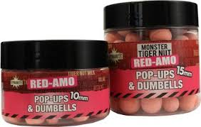 Dynamite Monster Tigernut Fluro Red-Amo Pop Ups & Dumbells