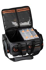 Savage Gear System Box Bag XL 3 Boxes + Waterproof cover (25x67x46cm)