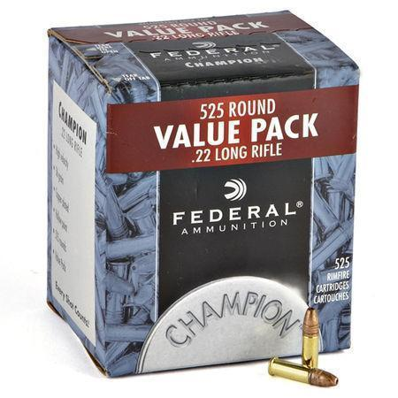 Federal Value Pack - .22lr (525 rounds)