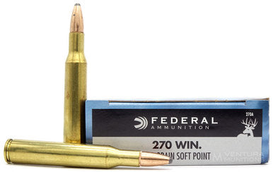 Federal Power Shock .270 WIN 130gr Soft Point