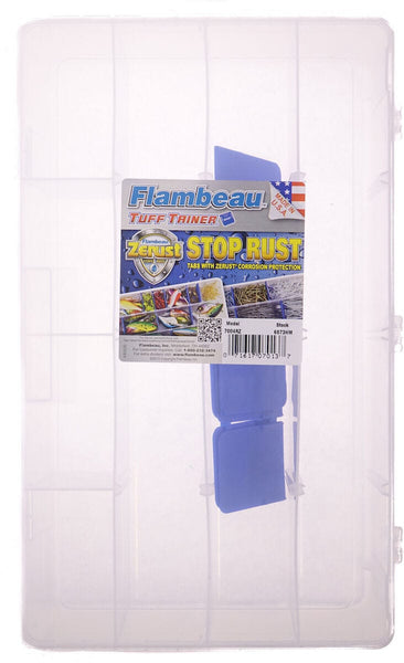Flambeau 7004R Tuff Tainer Double Deep Divided Box