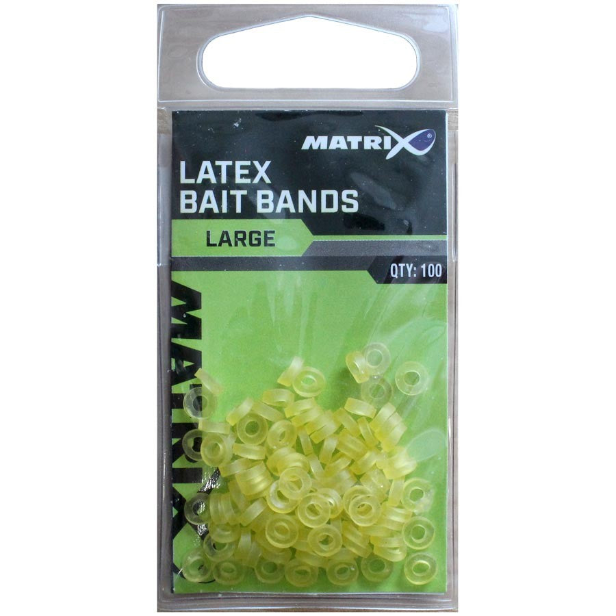 Matrix latex bait bands