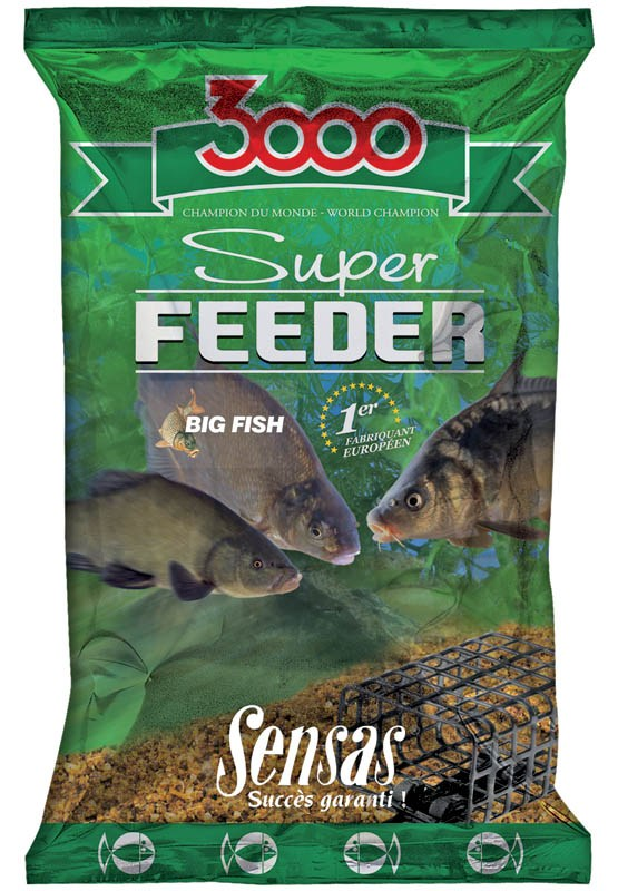 Sensas Super Feeder 1kg - Big Fish