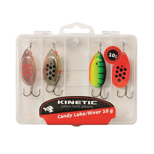 Kinetic Candy Lake/River spinner set 4g