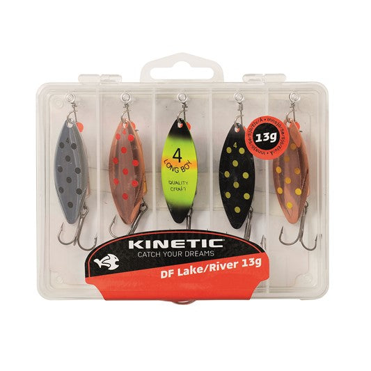 Kinetic Swing Lake/River spinner set 7g