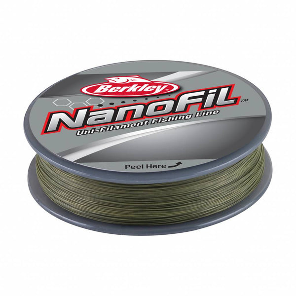 Berkley® Nanofil™ Braid Line 125m Low-Vis Green